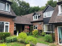 SPACIOUS UNFURNISHED 2 BEDROOM FIRST FLOOR FLAT WITH GARAGE AND PARKING IN LYTCHETT MATRAVERS
