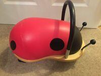 Wheely Bug - ladybird ride on 1yr+