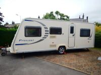 Bailey Pageant Series 7 Bretagne 2008 6 Berth Touring Caravan