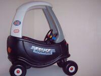 LITTLE TIKES ,TIKES, PATROL POLICE CAR