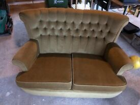 Vintage 2 seater sofa, Parker Knoll style excellent condition