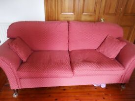 Laura Ashley classic 3 - seater sofa for sale £200