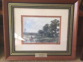 3 framed prints by George Turner