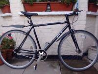 Fast and lightweight Viking Singlespeed/Fixie Bike