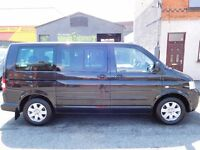 Volkswagen Caravelle multivan 2007 7 seat multi functioning interior, captains seats bed table