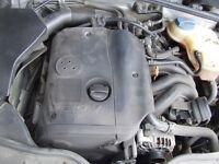 volkswagen PASSAT AUDI estate SILVER 1.8 20V ENGINE BREAKING FOR Parts