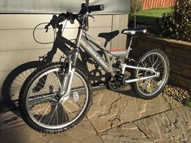 Kids Raleigh Mission mountain bike 20""
