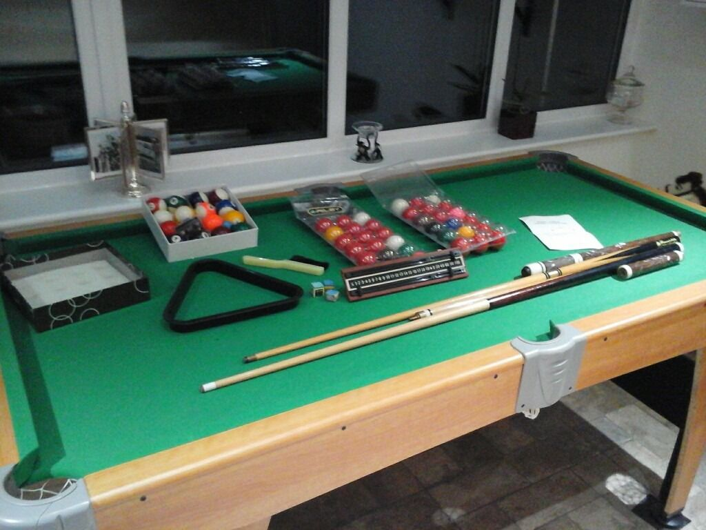 FT X FT Pool Table Height Adjustable Legs In Norwich Norfolk - Adjustable pool table