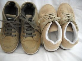2 pairs of size 7 trainers