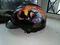 AGV motorcycle helmet.