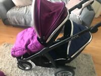 Oyster Max 2 Tandem Double Single Pram