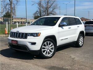 2017 Jeep Grand Cherokee LIMITED**LEATHER**NAVIGATION**BLUETOOTH