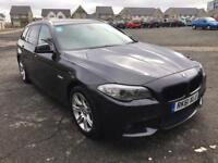 BMW 5 Series 2.0 520d M Sport Touring Grey *NEW ENGINE ONLY 20,000 AGO*