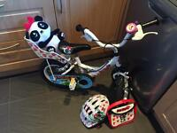 Girls first LuLu bike with accesories