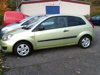 2006 FIESTA 1.2 MOT UNTIL MAY 2017