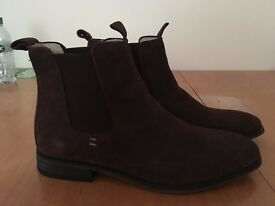 Men's Chelsea Boots. Brown Suede. 10. Brand new in box (worn once). £40 o.n.o