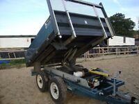 electric tipper trailer