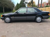 Mercedes 190 e 1990 same owner since 2 years old,new mot,fsh,still insured p-ex welcome