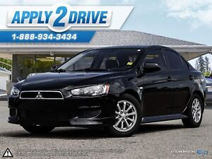 2011 Mitsubishi Lancer Low kms  Black and Fun