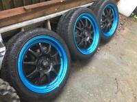 Rita gt3 alloys wheels and tyres