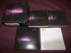 Pro Tools 9 , Music Production , Recording , Editing and Mixing Software for Digidesigh and AVID.