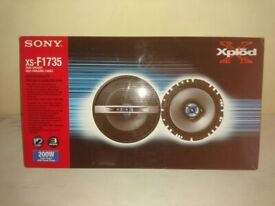Sony 3 way speakers Xs-F1735 and Xs A1027 2way speakers