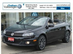 2015 Volkswagen Eos Hard Top Convertable Navigation Heated Leath
