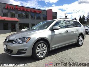 2015 Volkswagen Golf 2.0 TDI Comfortline w/leather