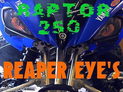 YAMAHA RAPTOR REAPER HeadLight Head lights Covers RUKIND 2006 -2018 MUST SEE