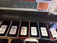 iPhone 5c UNLOCKED ANY NETWORK