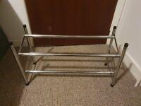 Extendable Metal Shoe Rack