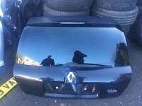 Renault Clio boot lid