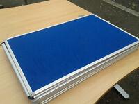 Blue memo board