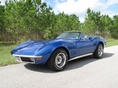 1971 Chevrolet Corvette  1971 Chevrolet Corvette