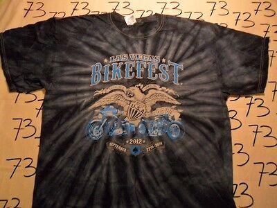 XL- Las Vegas Bike Fest 2012 T- Shirt