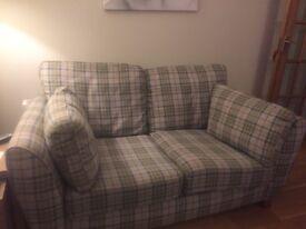 2 small Next 2 seater sofa's