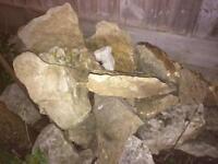 Rockery rocks diy stones