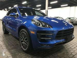 2016 Porsche Macan TURBO, KEYLESS ENTRY, NAVI, ONLY 29KM