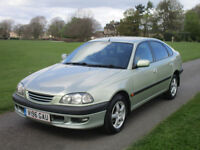 TOYOTA AVENSIS FABULOUS VALUE 5 DR AUTOMATIC