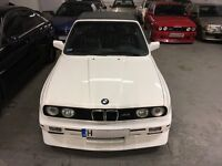BMW E30 M3 CONVERTIBLE 325I PROJECT REPLICA LHD M TECH