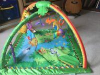 Fisher Price Rainforest Musical Gym - good condition