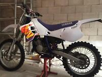Yamaha yz 125 road legal classic bike