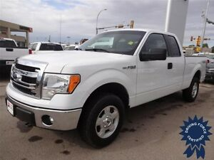 2014 Ford F-150 XLT 4WD SuperCab, 5.0L V8, Trailer Tow Package