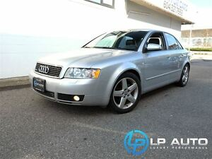 2004 Audi A4 1.8T Local BC Vehicle!!
