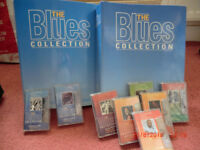 2 Blues folders and tapes
