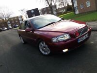 Volvo s80 2.4 v6 automatic mint condition huge spec 03plate cherry red mercedes bmw audi jaguar v6