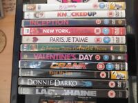 Collection of DVD's for sale, some un-opened