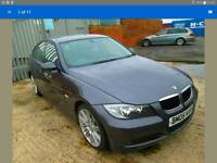 2005 BMW 320i 6 SPEED MANUAL E90 GREY LEATHER INTERIOR ALLOYS BONNET HEADLIGHT BUMPER WING MIRROR