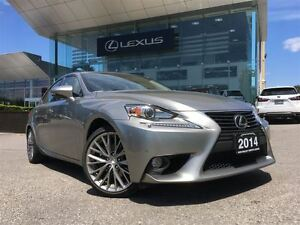 2014 Lexus IS 250 Luxury Pkg AWD Navi Backup Cam Sunroof