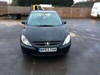 Peugeot 307 1.4 Petrol 5 Door Long Mot Good Runner Only £500